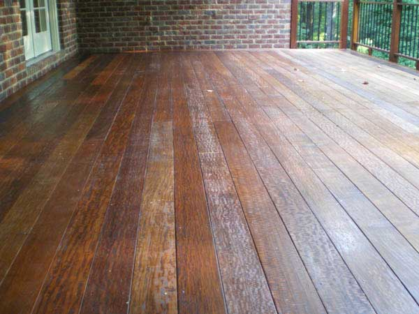 Lace Figured Ipe Decking